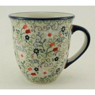 Bunzlauer Keramik Tasse MARS Maxi - bunt - 0,43 Liter, (K106-EO36), U N I K A T