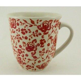 Bunzlauer Keramik Tasse MARS Maxi - Rose - 0,43 Liter, (K106-GZ32), U N I K A T