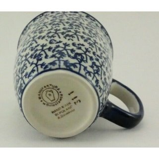 0,3 Liter, Becher Bunzlauer Keramik Tasse MARS Hasen K081-P324