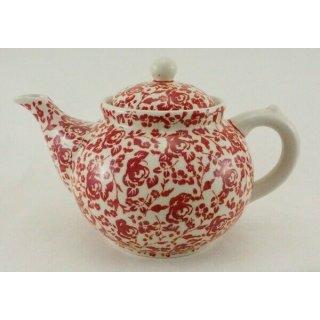 Bunzlauer Keramik Teekanne, Kanne für 1,3Liter Tee, (C017-GZ32) U N I K A T