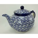 Bunzlauer Keramik Teekanne, Kanne für 1,3Liter Tee, (C017-P364)