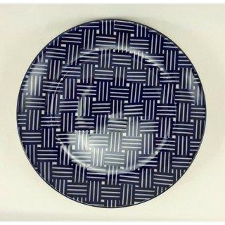 Bunzlauer Keramik Teller, Essteller, Kuchenteller, Frühstück, ø 22cm (T134-32)