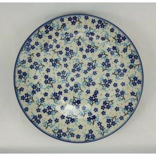 Bunzlauer Keramik Teller, Essteller, Kuchenteller, Frühstück, ø 22cm (T134-AS45)