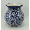Bunzlauer Keramik Vase, Kugelvase, Pünktchen,...