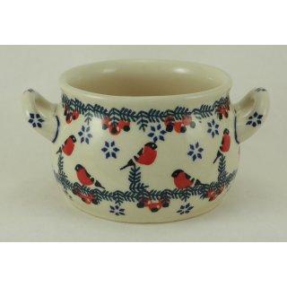 Bunzlauer Keramik Suppentasse 0,3Liter, Dekor GILE, Hitze- und Kältebeständig