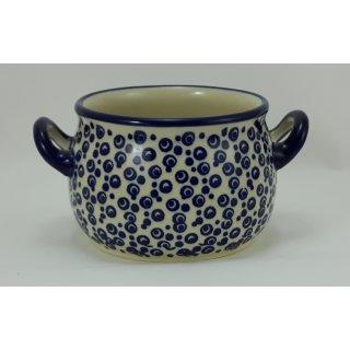 Bunzlauer Keramik Suppentasse 0,3Liter, Dekor MAGD, Hitze- und Kältebeständig