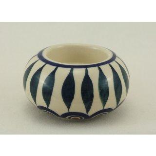 Bunzlauer Keramik Kerzenhalter KULA, Kugel, Deko, Teelichthalter, (S008-54)