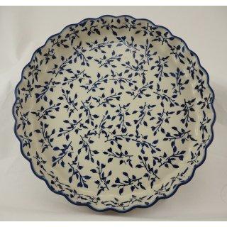 Bunzlauer Keramik Quicheform, Obstkuchen, Auflaufform, Tarteform, F094-LISK