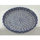 Bunzlauer Keramik Quicheform, Obstkuchen, Auflaufform, Tarteform, F094-MAGD
