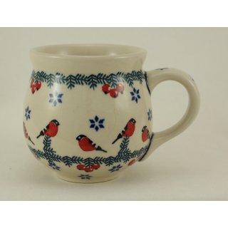 Bunzlauer Keramik Tasse BÖHMISCH - Becher - bunt - 0,25 Liter (K090-GILE)