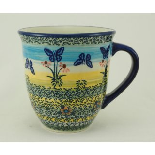 Bunzlauer Keramik Tasse MARS Maxi - 0,43 Liter, Becher, (K106-WKM), SIGNIERT