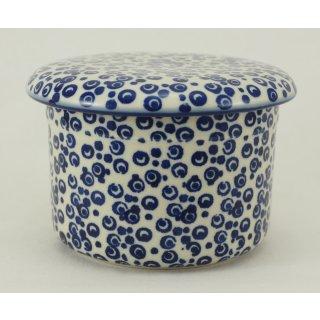 Bunzlauer Keramik Butterdose, Hermetic mit Wasserkühlung, französisch (M136-MAGD)