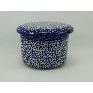 Bunzlauer Keramik Butterdose, Hermetic mit Wasserkühlung, französisch (M136-MAGM)