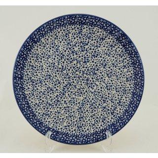 Bunzlauer Keramik Teller, Essteller, Kuchenteller, Frühstück, ø 22cm (T134-MAGM)