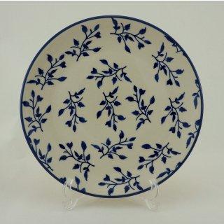 Bunzlauer Keramik Teller, Essteller, Kuchenteller, Frühstück, ø 22cm (T134-LISK)