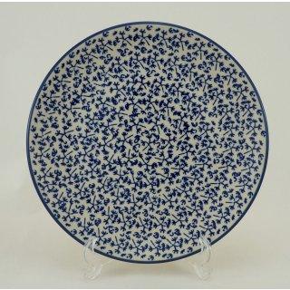 Bunzlauer Keramik Teller, Essteller, Kuchenteller, Frühstück, ø 22cm (T134-P364)