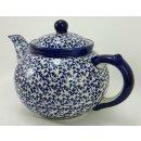B-Ware Bunzlauer Keramik Teekanne, Kanne für 1,3Liter Tee (C017-P364)