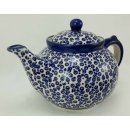 B-Ware Bunzlauer Keramik Teekanne, Kanne für 1,3Liter Tee (C017-MAGD)