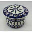 B-Ware Bunzlauer Keramik Butterdose, Hermetic mit Wasserkühlung (M136-54)