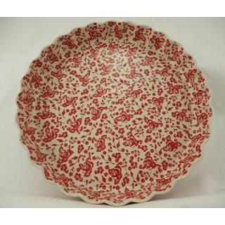 B-Ware Bunzlauer Keramik Quicheform, Obstkuchen, Auflaufform, Tarteform (F094-GZ32)
