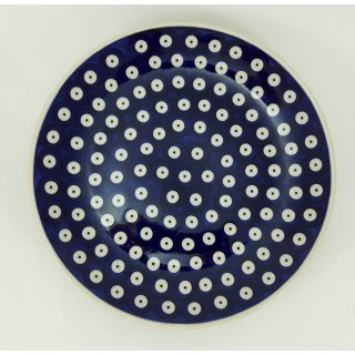 B-Ware Bunzlauer Keramik Teller, Essteller, Kuchenteller, Frühstück, ø 22cm (T134-70A)