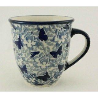 B-Ware Bunzlauer Keramik Tasse MARS Maxi - bunt - 0,43 Liter, (K106-AS56), U N I K A T