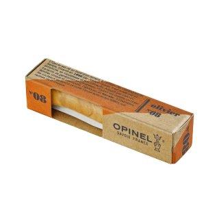 Opinel Taschenmesser No 08, Olive, rostfrei