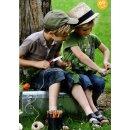 Opinel Kindermesser No 07, Buche, grün, rostfrei