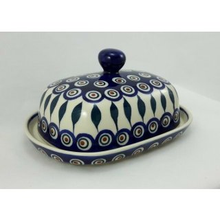 Bunzlauer Keramik Butterdose groß, für 250g Butter, Butterglocke (M137-54)