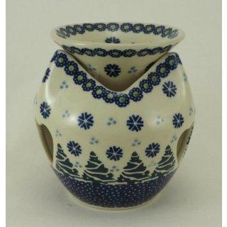 Bunzlauer Keramik Duftlampe, Windlicht, Öllampe, Aromalampe (P090-U22)