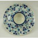 Bunzlauer Keramik Eierbecher mit Teller 2er Set, Signiert...