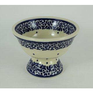 Bunzlauer Keramik Eisbecher, Eispokal, Kinder-Becher, kleine Schale (P124-56)