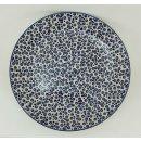Bunzlauer Keramik flacher Teller, Essteller, Speiseteller, ø 26cm (T132-MAGD)