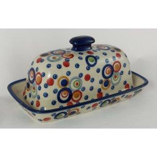 Bunzlauer Keramik Käsedose, Ziegenkäserolle, Harzer, U N I K A T (M074-AS38)
