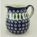 Bunzlauer Keramik Krug, Blumenvase,  Kanne, Milchkrug, 1,4Liter, (D040-54)