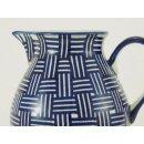 Bunzlauer Keramik Krug, Kanne, Blumenvase, Milchkrug; 0,75Liter UNIKAT (D023-32)