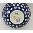 Bunzlauer Keramik Schale MISKA, Müsli, Schüssel,  Dekor 70M, blau/weiß, ø15cm