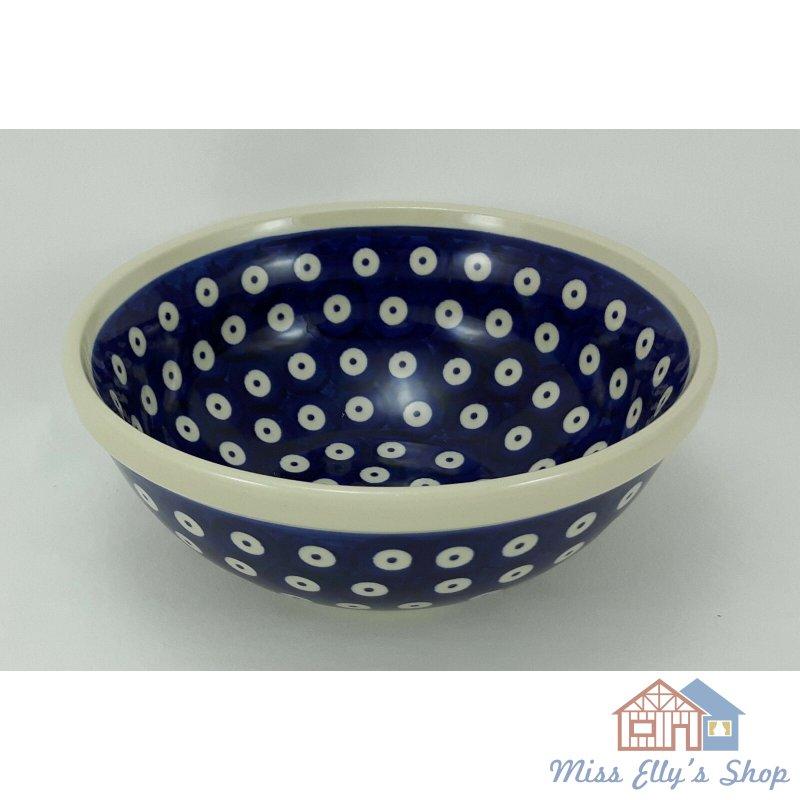 Bunzlauer Keramik Schale MISKA M090-32 V=0,6L UNIKAT ø17cm Schüssel Gitter