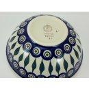 Bunzlauer Keramik Schale MISKA, Schüssel, Salat,blau/weiß, ø17cm(M090-54) V=0,6L
