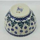 Bunzlauer Keramik Schale, Müsli, Teeschale, Schüssel, Tannenmuster (C018-U22)