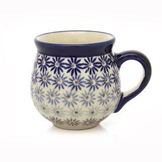 Bunzlauer Keramik Tasse BÖHMISCH - Becher - U N I K A T - 0,25Liter, (K090-AS55)