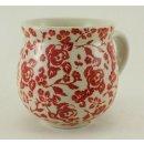 Bunzlauer Keramik Tasse BÖHMISCH - Becher - U N I K A T - 0,25Liter, (K090-GZ32)