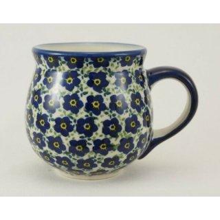 Bunzlauer Keramik Tasse BÖHMISCH - Becher - U N I K A T - 0,25Liter, (K090-MKOB)