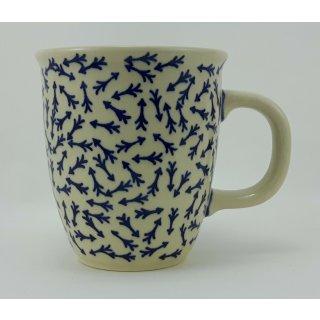 Bunzlauer Keramik Tasse MARS - 0,3 Liter, (K081-KZ5) Neues Muster von D.Koziara