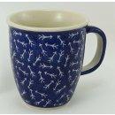 Bunzlauer Keramik Tasse MARS - 0,3 Liter, (K081-KZ7) Neues Muster von D.Koziara