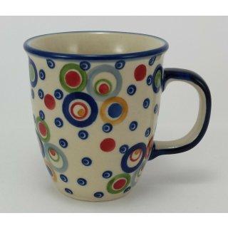SIGNIERT Bunzlauer Keramik Tasse MARS Maxi K106-KOKU 0,43 Liter,