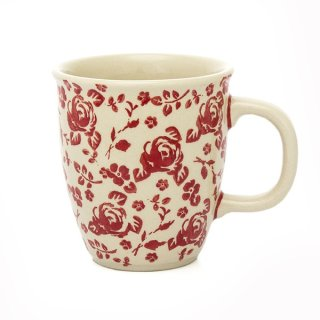 Bunzlauer Keramik Tasse MARS - Becher - 0,3Ltr. (K081-GZ32) Rosenbüten, UNIKAT
